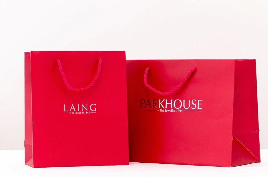 kích thước túi giấy thời trang