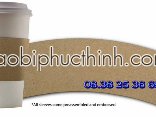 tay quai nong lanh, Coffee Cup Sleeve