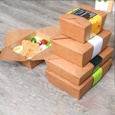 Những lợi ích tuyệt vời khi sử dụng hộp giấy đựng thức ăn nóng